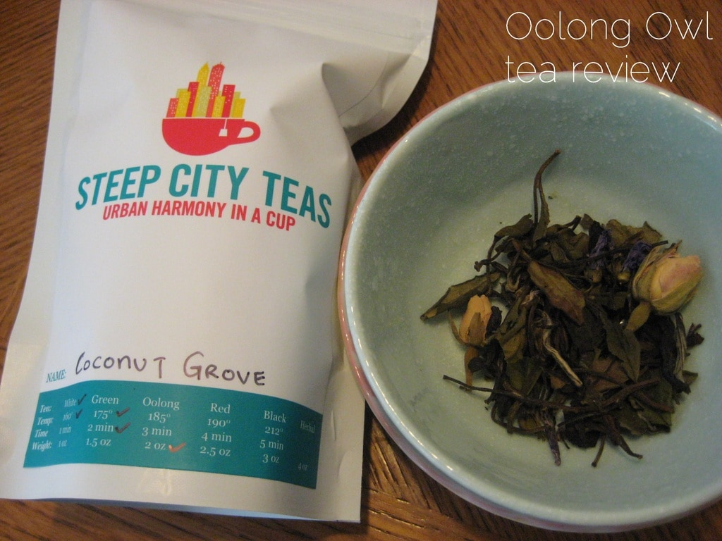 Coconut Grove from SteepCityTeas - Oolong Owl Tea Review (6)