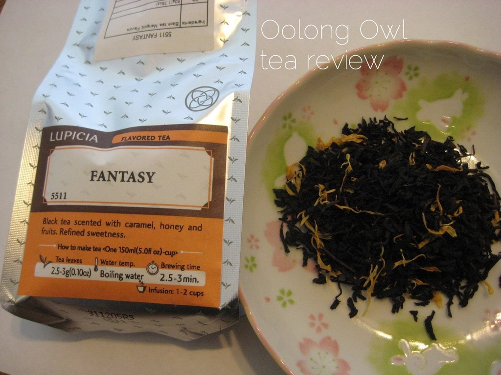 Fantasy by Lupicia - tea review by Oolong Owl.