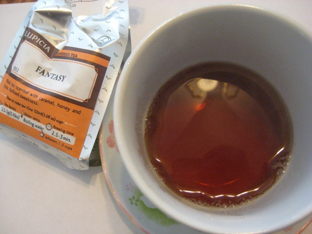 Fantasy by Lupicia - Oolong Owl tea review