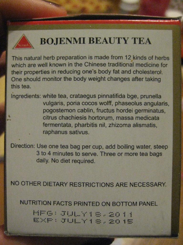 Bojenmi herbal tea - I Prefer This Tea Loose Leaf Why The Bags Suck The String Falls Off The Bag Has Fallen Apart A Few Times On Me Spewing Tea Bits Into My Cup