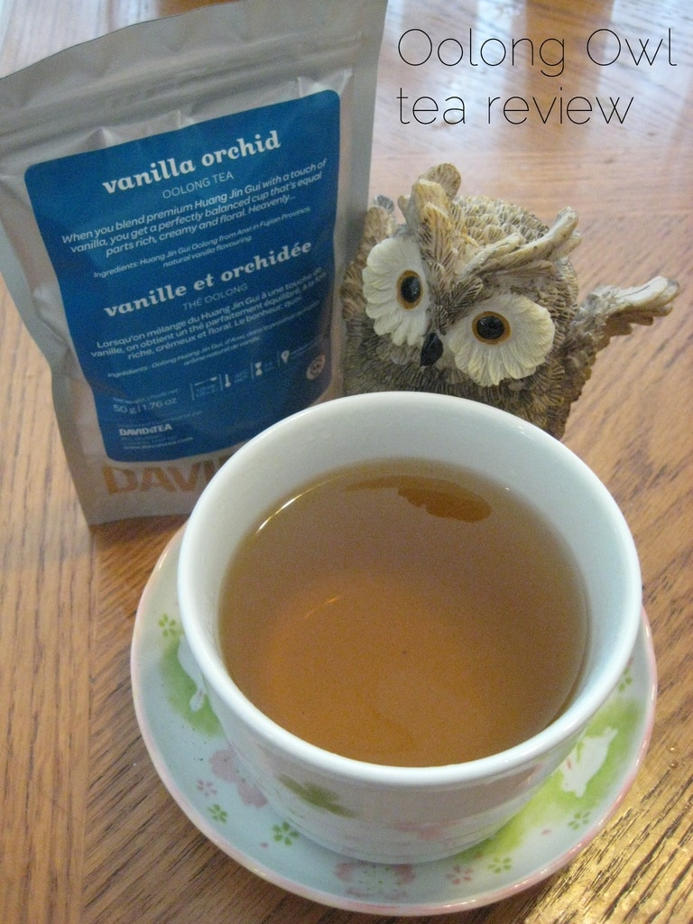 Vanilla Orchid - Oolong Owl tea review
