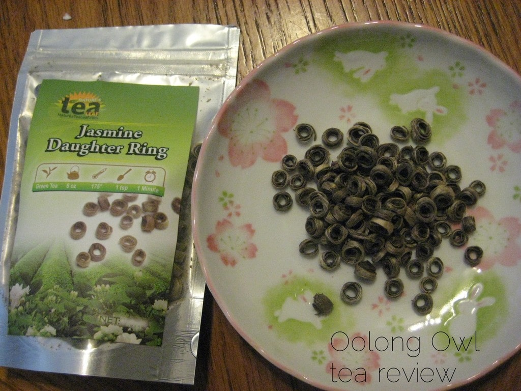 Jasmine Daughter Rings from Nature's Tea Leaf - Oolong Owl Tea Review