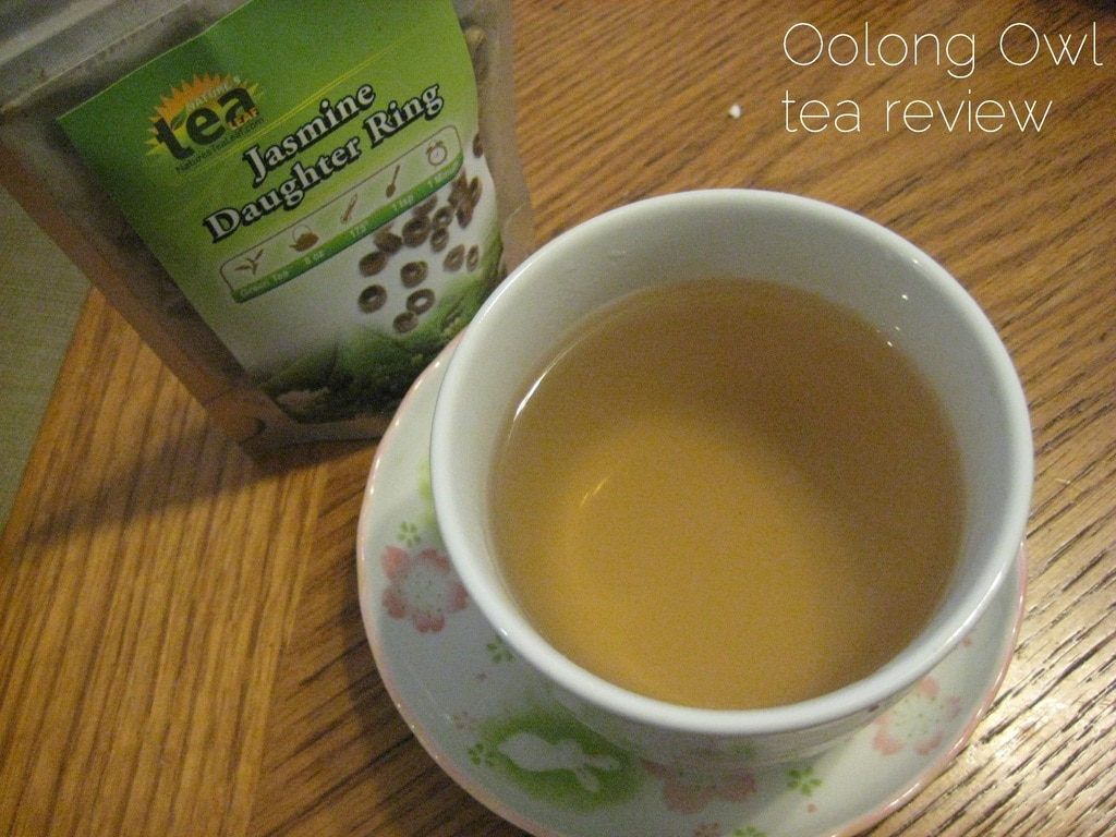 Jasmine Daughter Rings - Nature's Tea Leaf - Oolong Owl tea review