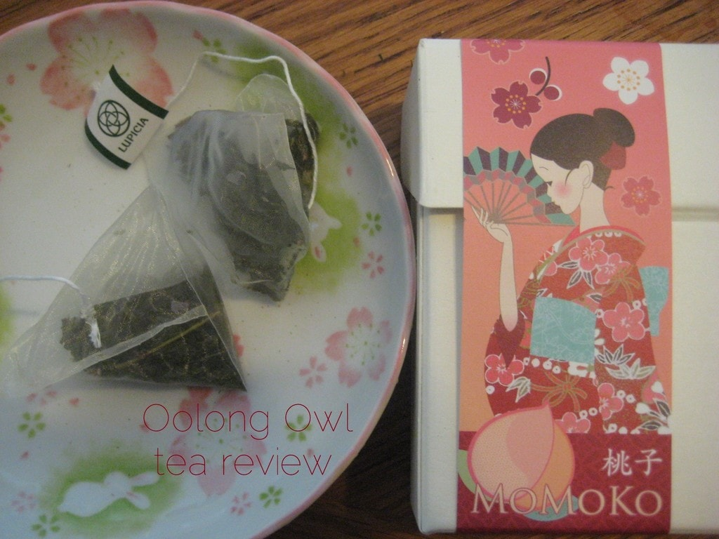 Lupicia's Momoko - Tea review by Oolong Owl