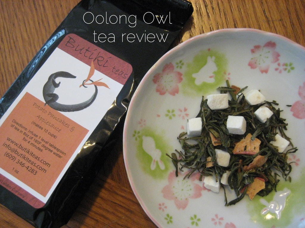 Potato Pancakes & Applesauce - Tea Review by Oolong Owl