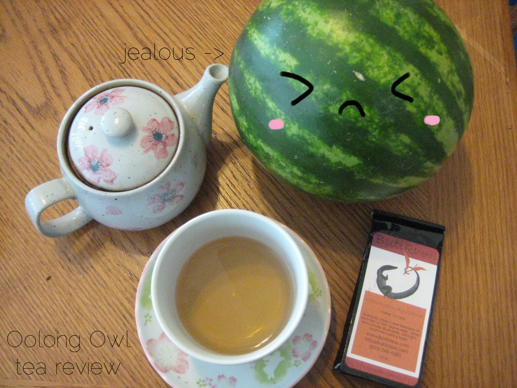 watermelon xylophone - butiki teas - oolong owl tea review