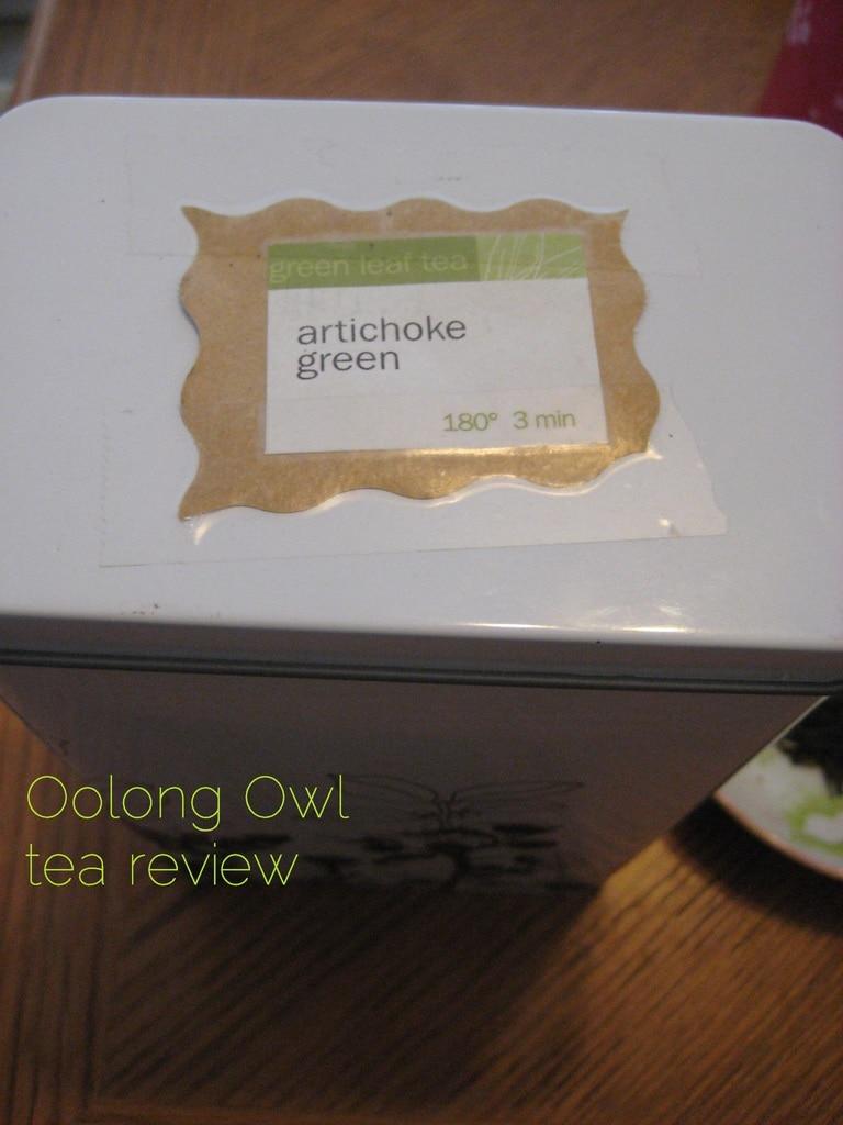 Artichoke Green from Adagio Teas - Oolong Owl Tea Review (2)