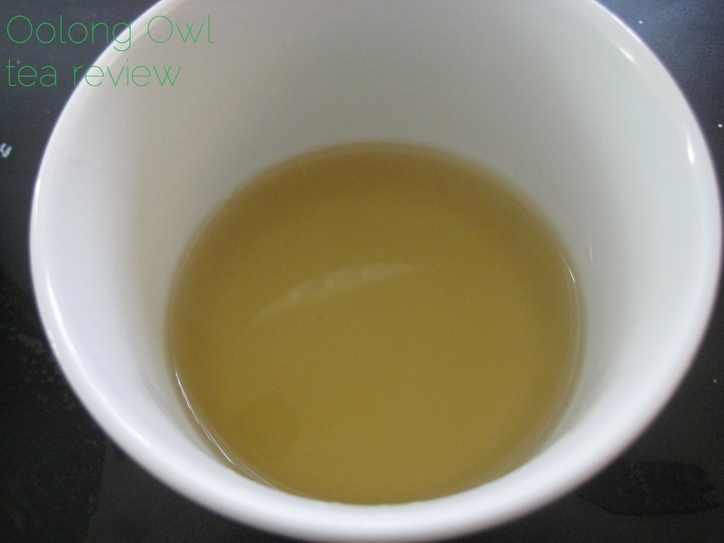 Artichoke Green from Adagio Teas - Oolong Owl Tea Review (3)