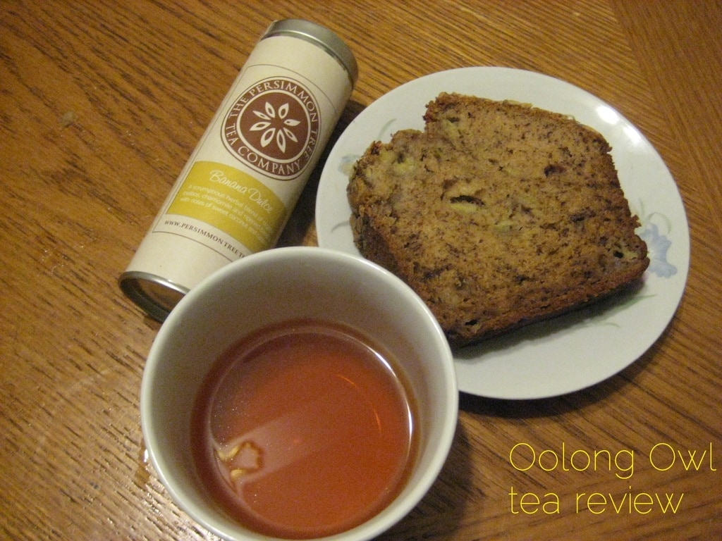 Banana Coconut from The Persimmon Tree - Oolong Owl tea review (5)