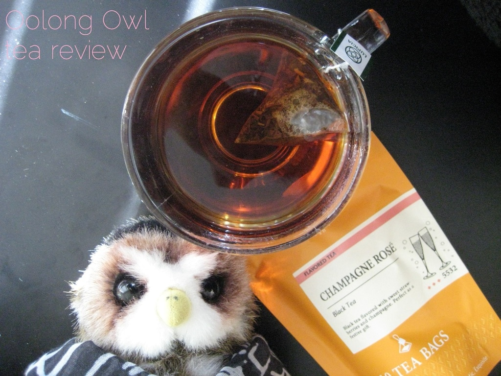 Champange Rose from Lupicia - Oolong Owl tea review (2)