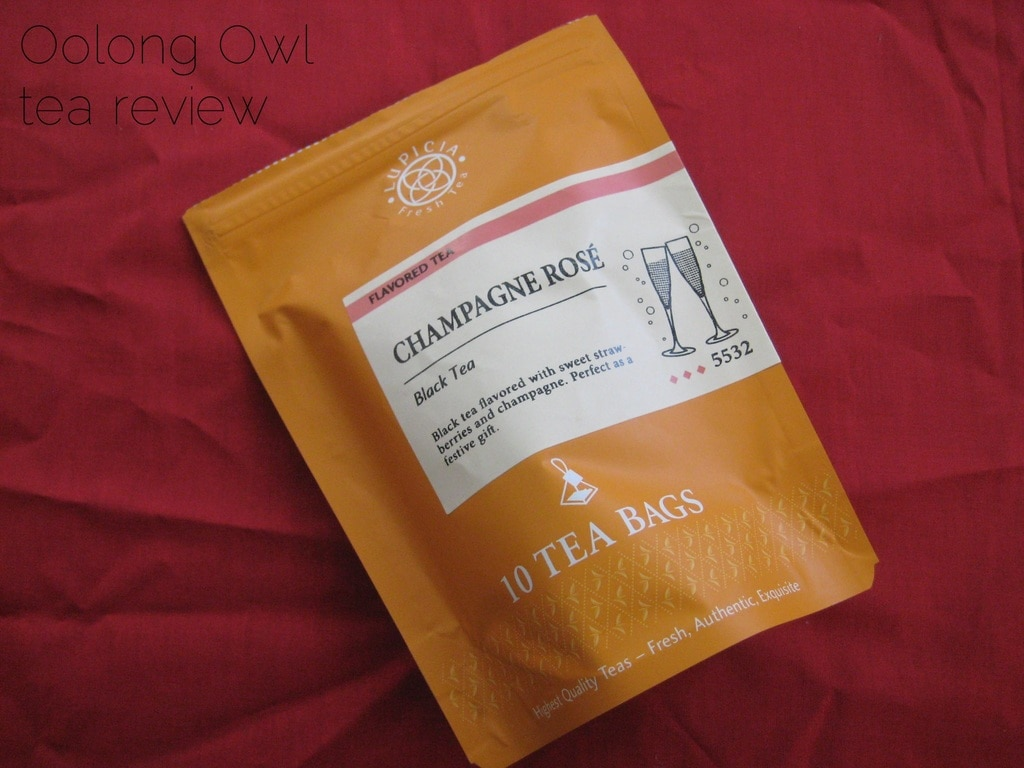 Champange Rose from Lupicia - Oolong Owl tea review (5)
