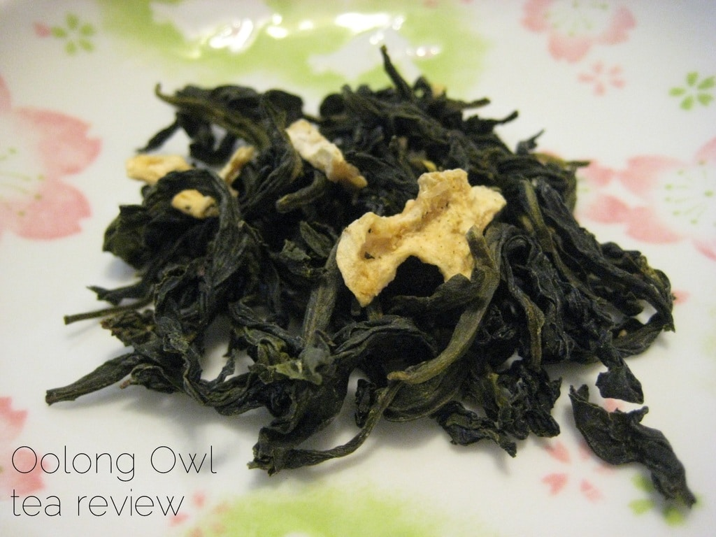 Flowery Pineapple Oolong from Butiki Teas - Oolong Owl tea review (1)