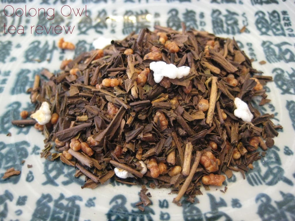 Houjigenmaicha from Dens Tea - Oolong Owl tea review (2)