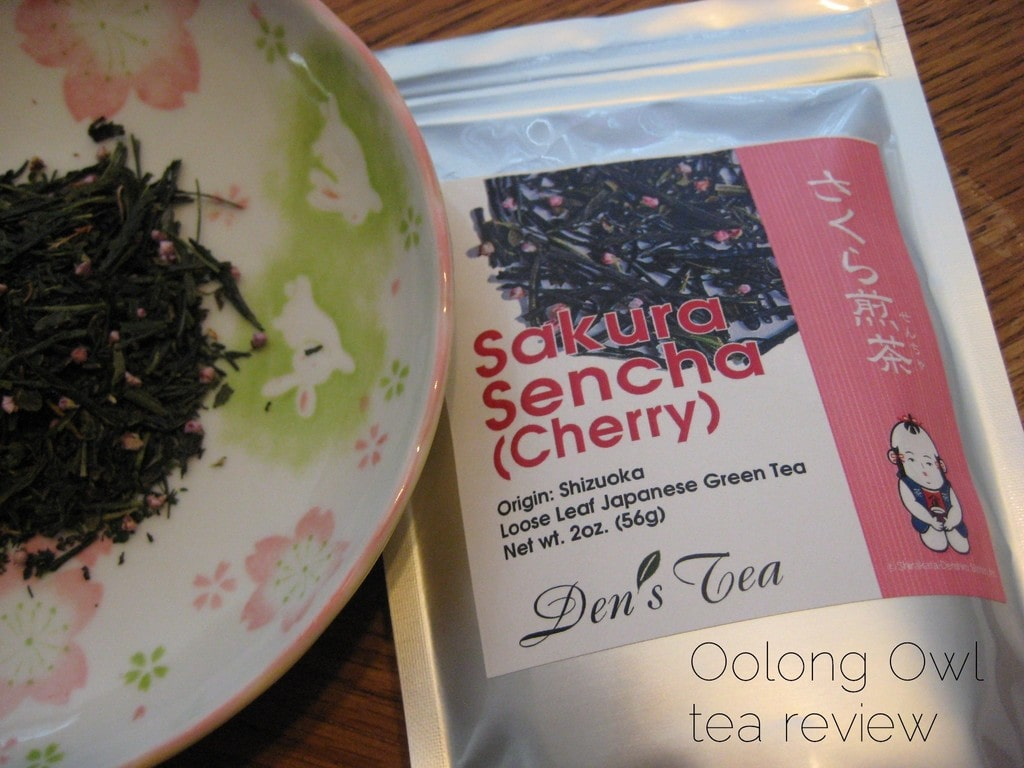 Sakura Sencha from Den's Tea - Oolong Owl Tea review