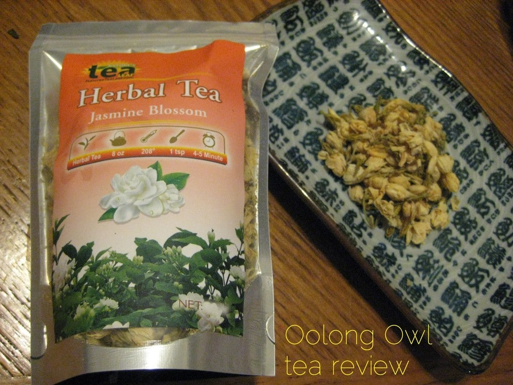 Jasmine Blossom from Natures Tea Leaf - Oolong Owl tea review (2)
