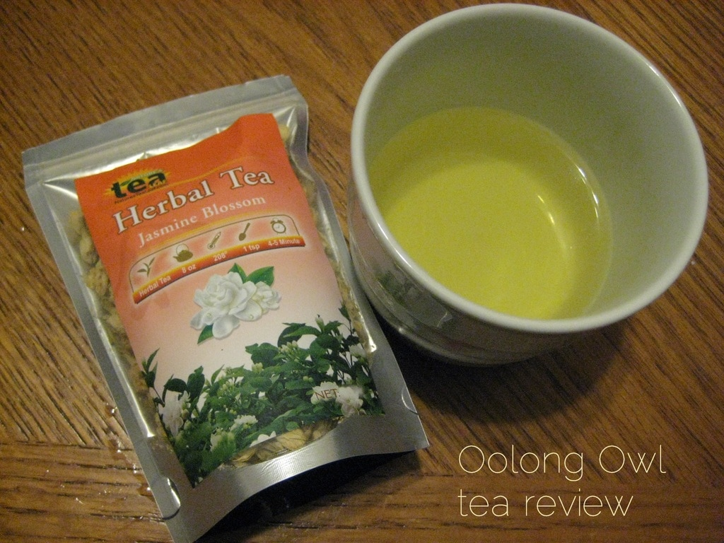 Jasmine Blossom from Natures Tea Leaf - Oolong Owl tea review (7)