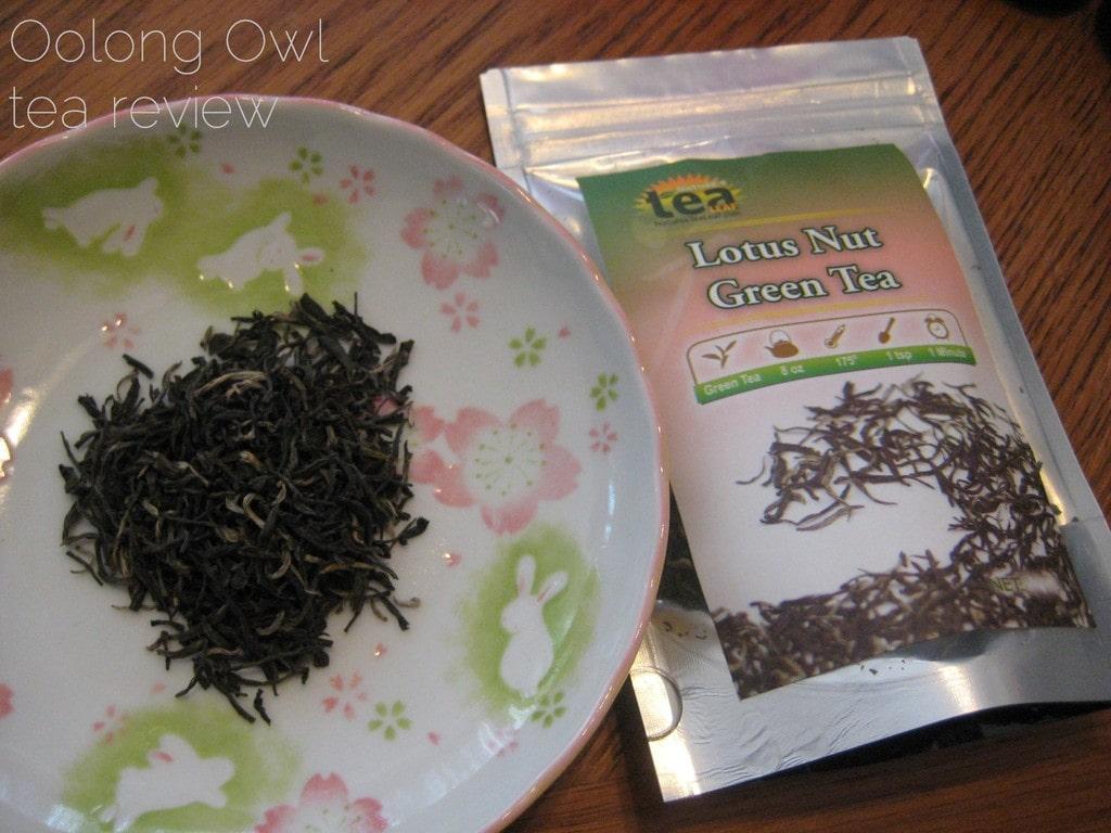 Lotus Nut Green Tea from NaturesTeaLeaf - Oolong Owl Tea Review (2)