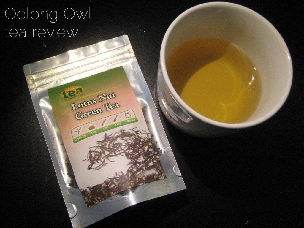 Lotus Nut Green Tea from NaturesTeaLeaf - Oolong Owl Tea Review (3)