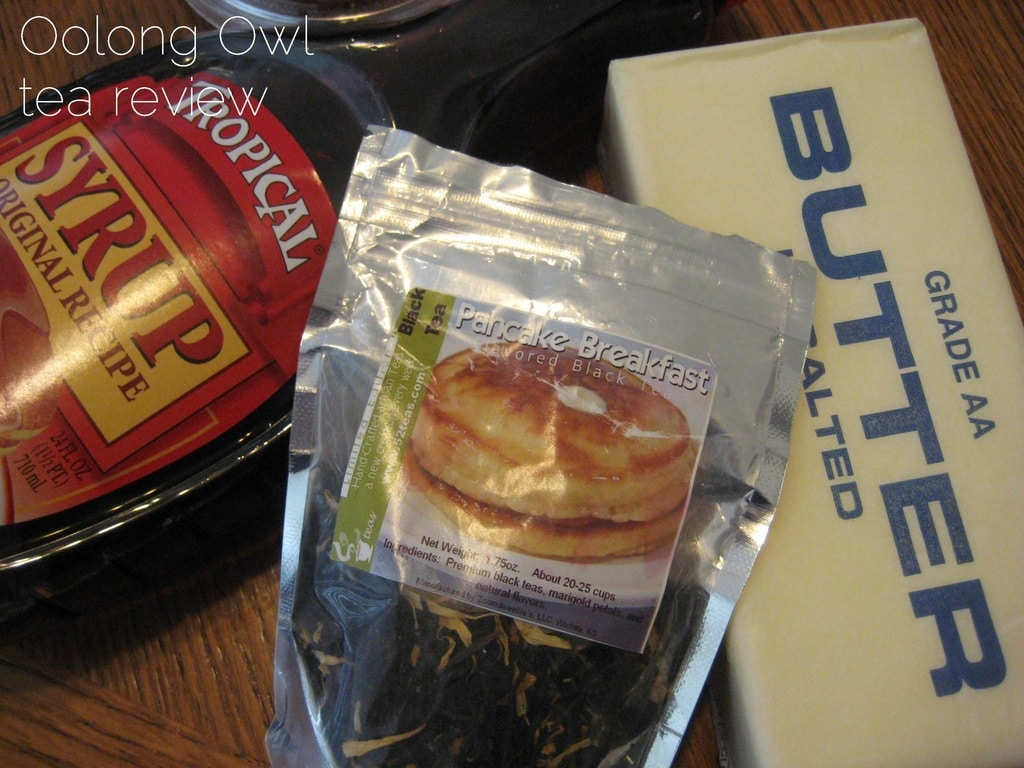 Pancake Breakfast from 52 teas - Oolong Owl Review (2)