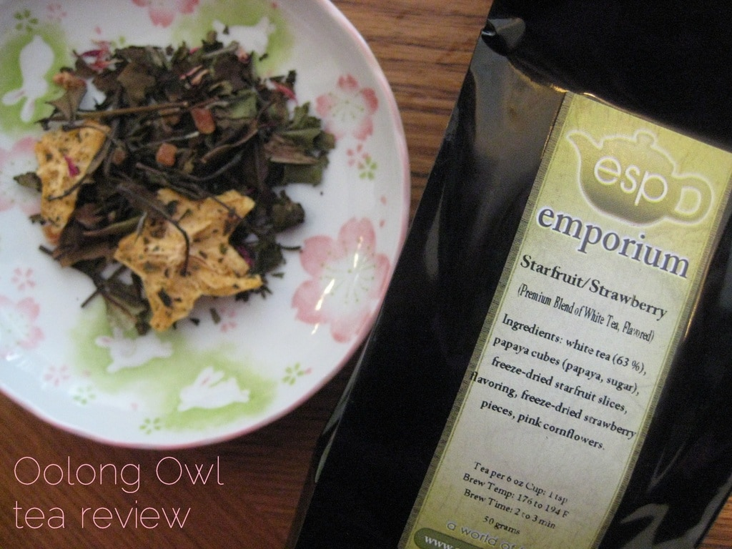 Starfruit Strawberry from ESP Emporium - Oolong Owl Tea Review (4)