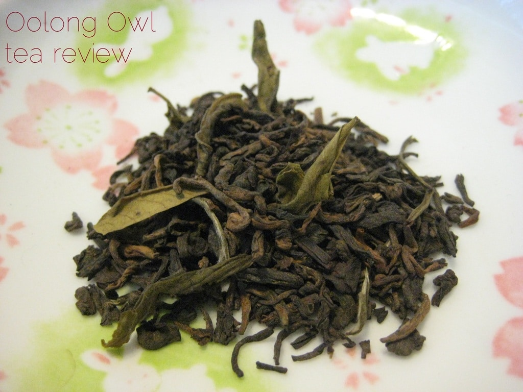 Tropical Puerh from Kally Tea - Oolong Owl tea review (1)