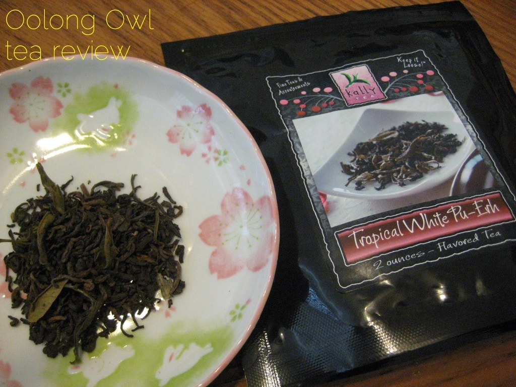 Tropical Puerh from Kally Tea - Oolong Owl tea review (2)