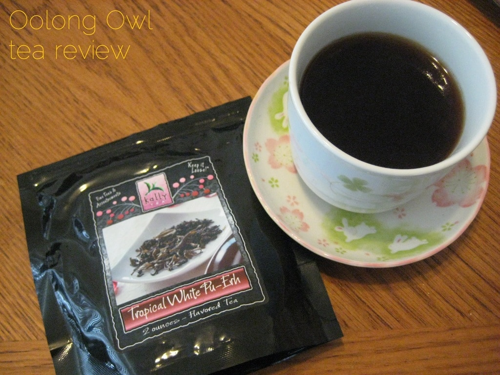 Tropical Puerh from Kally Tea - Oolong Owl tea review (4)