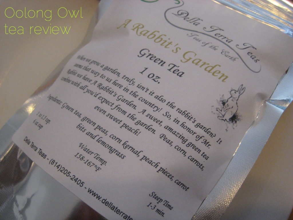 A Rabbits Garden from Della Terra Teas - Oolong Owl Tea review (1)