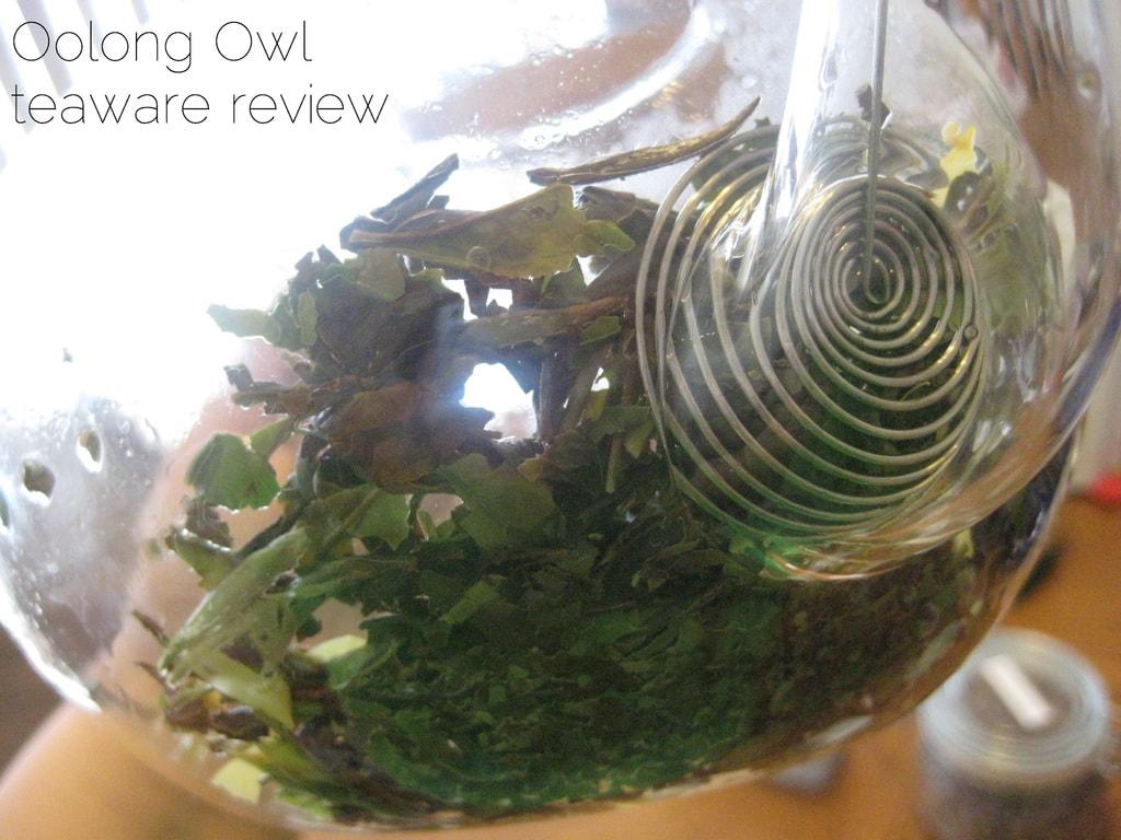 Blooming Glass Tea pot from DavidsTea - Oolong Owl Review (12)