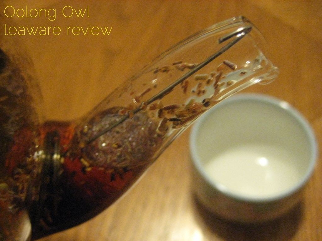 blooming glass tea pot from DavidsTea - Oolong Owl review (1)