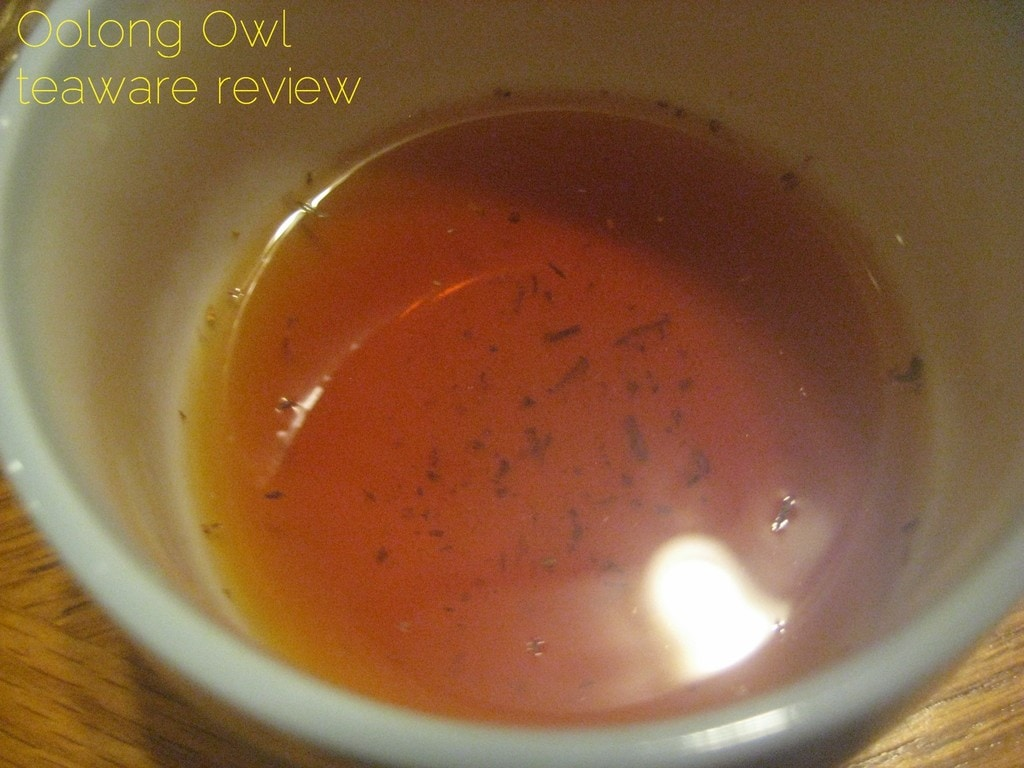 blooming glass tea pot from DavidsTea - Oolong Owl review (2)