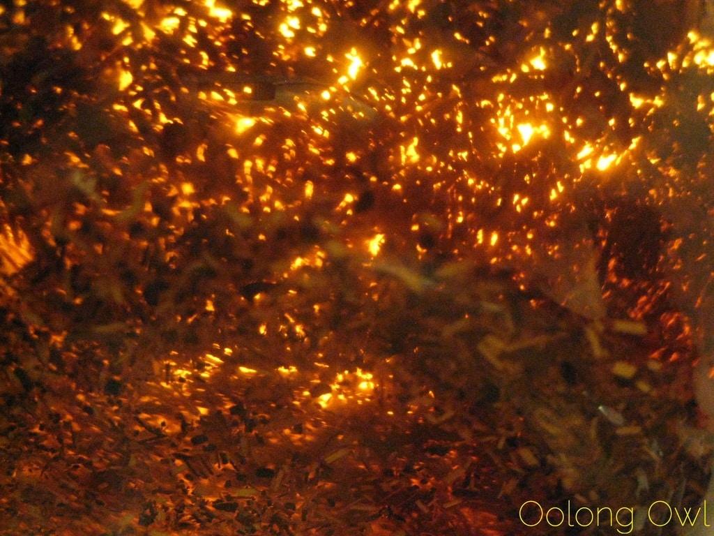 Blooming Tea pot from DavidsTea - Oolong Owl Review - bonus rooibos