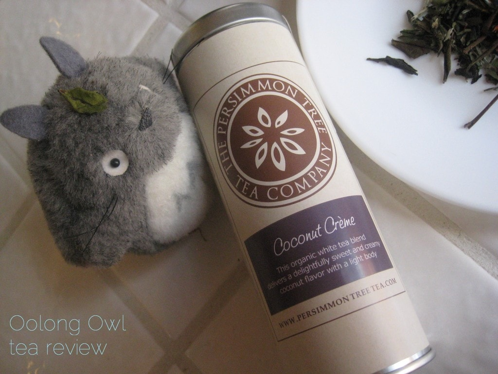 Coconut Creme from The Persimmon Tree - Oolong Owl Tea Review (2)