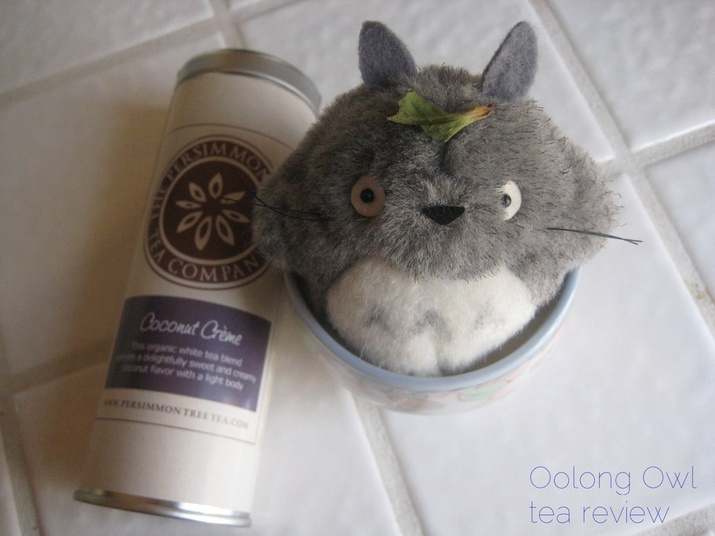 Coconut Creme from The Persimmon Tree - Oolong Owl Tea Review (3)