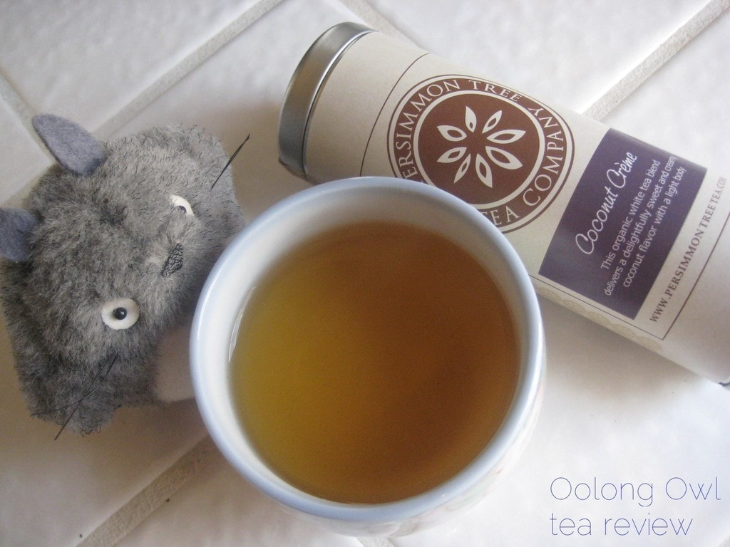 Coconut Creme from The Persimmon Tree - Oolong Owl Tea Review (4)