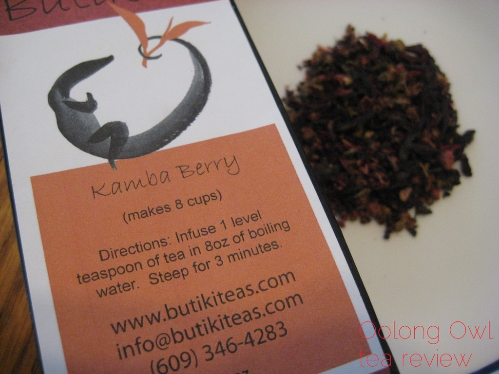 Kamba Berry from Butiki Teas - Oolong Owl Tea Review (2)