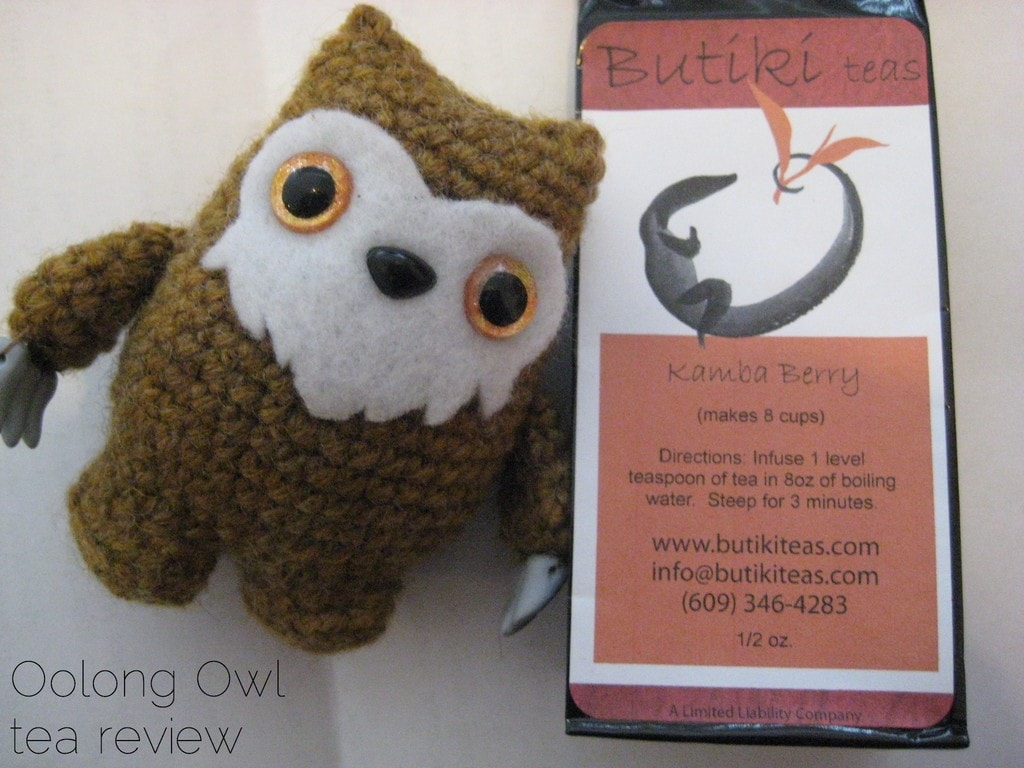 Kamba Berry from Butiki Teas - Oolong Owl Tea Review (5)