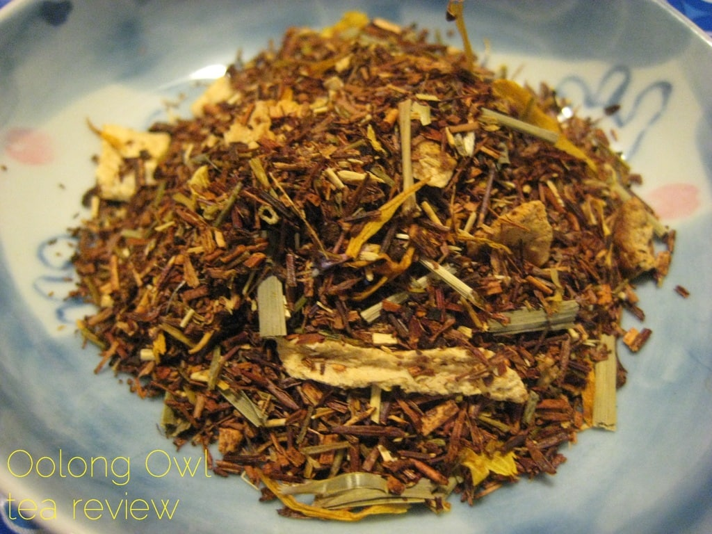 Lemon Lime Cream Tart from Della Terra Teas - Oolong Owl Tea Review (1)