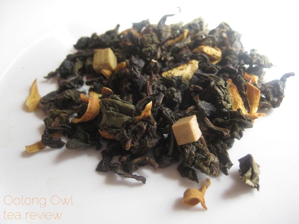 Orange Brulee from Della Terra - Oolong Owl tea review (2)