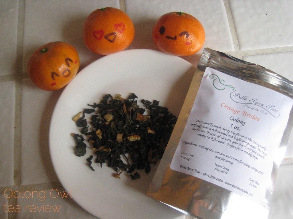 Orange Brulee from Della Terra - Oolong Owl tea review (4)