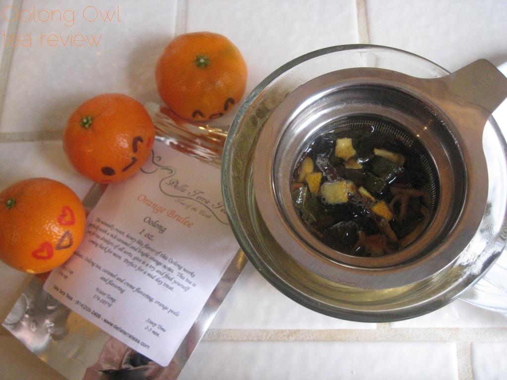 Orange Brulee from Della Terra - Oolong Owl tea review (5)