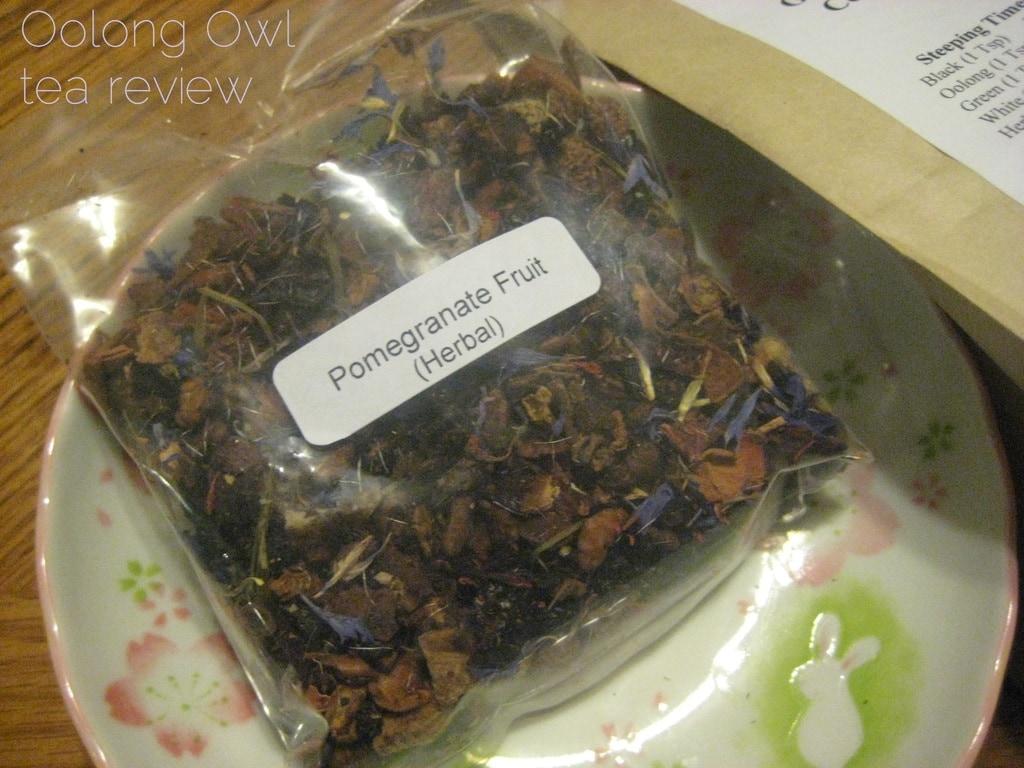 Pomegranate Fruit from Georgia Tea co - Oolong Owl Tea Review (2)