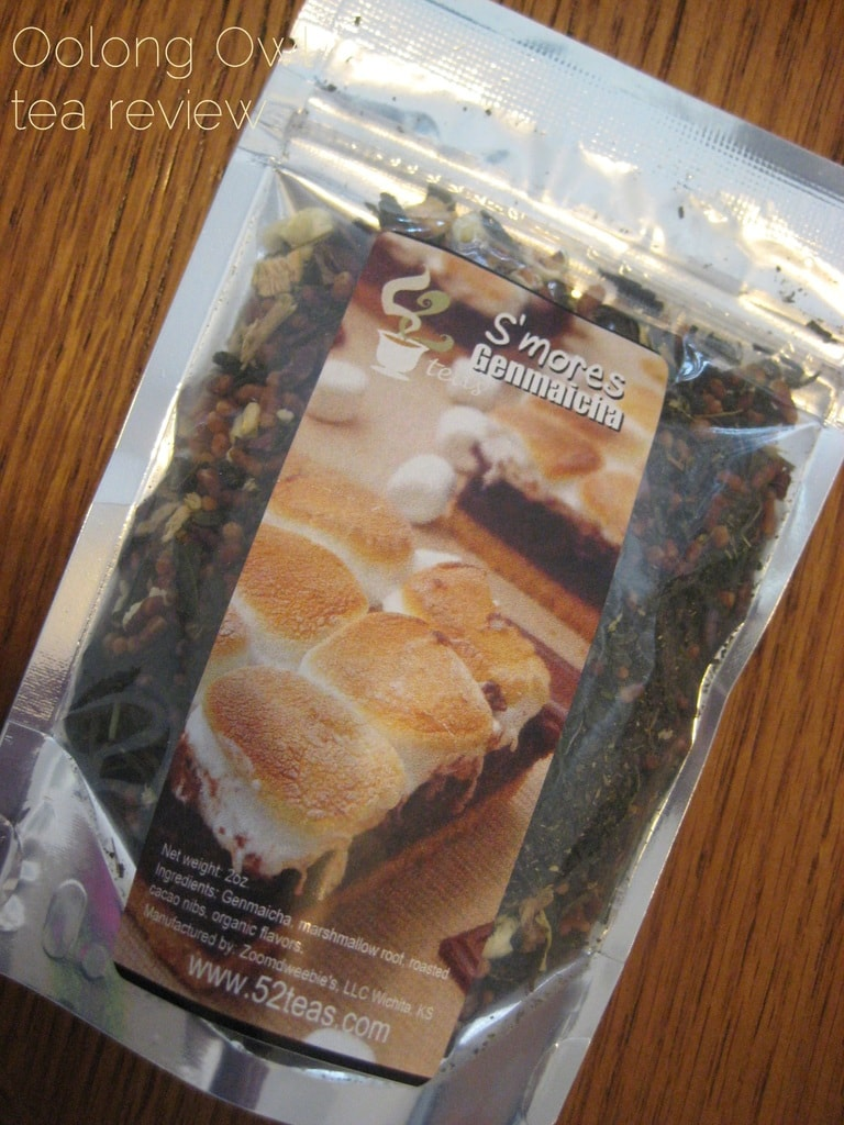 Smore Genmaicha from 52 Teas - Oolong Owl Tea Review (1)