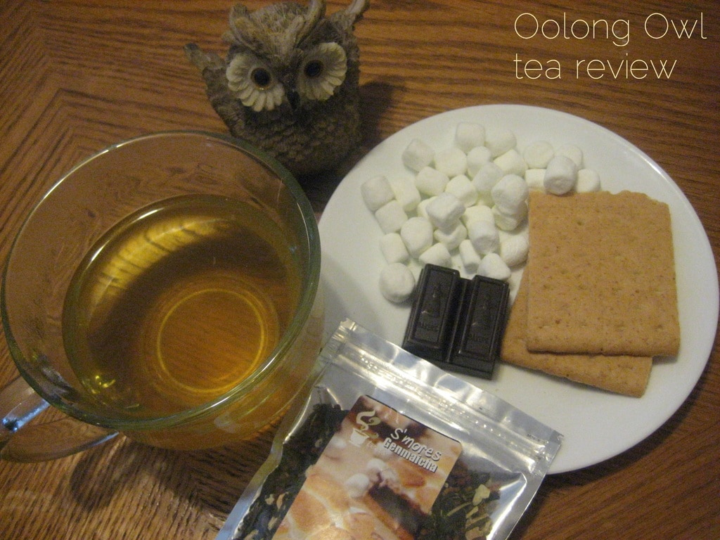 Smore Genmaicha from 52 Teas - Oolong Owl tea review 2 (3)