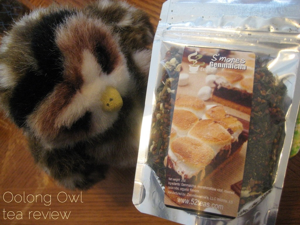 Smore Genmaicha from 52 Teas - Oolong Owl Tea Review (2)