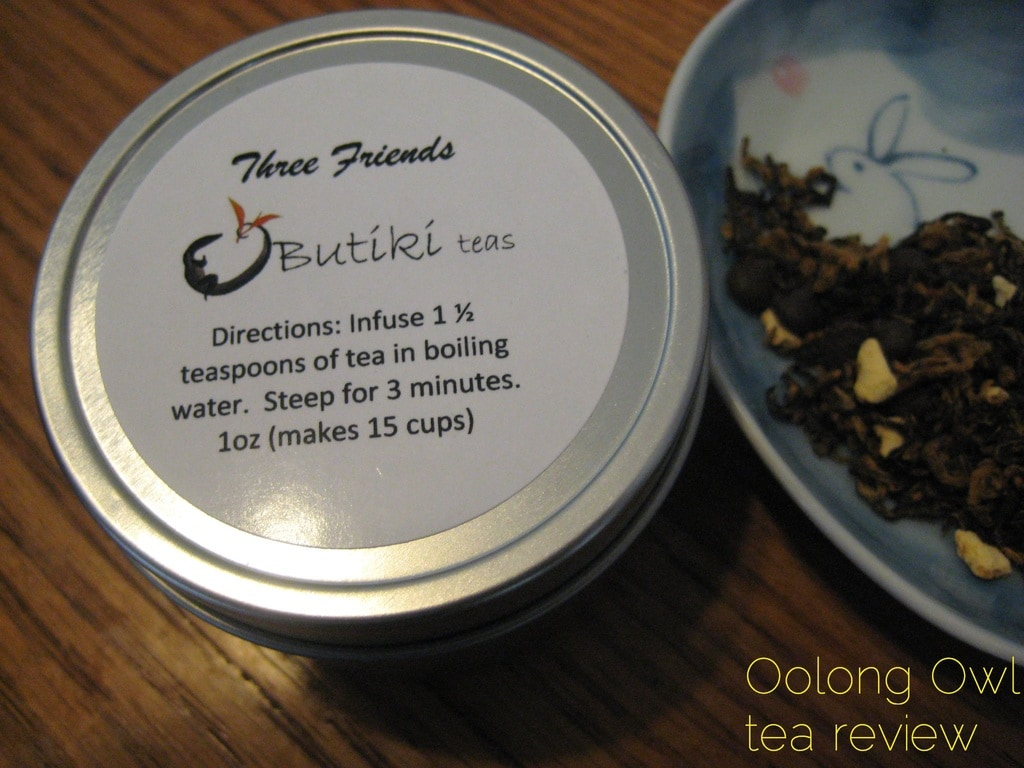 Three Friends from Butiki Teas - Oolong Owl tea review (2)