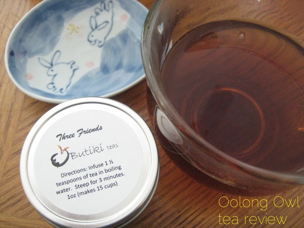 Three Friends from Butiki Teas - Oolong Owl tea review (3)