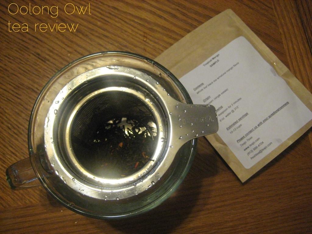 Tropical Mango from TeaJo - Oolong Owl tea review (3)