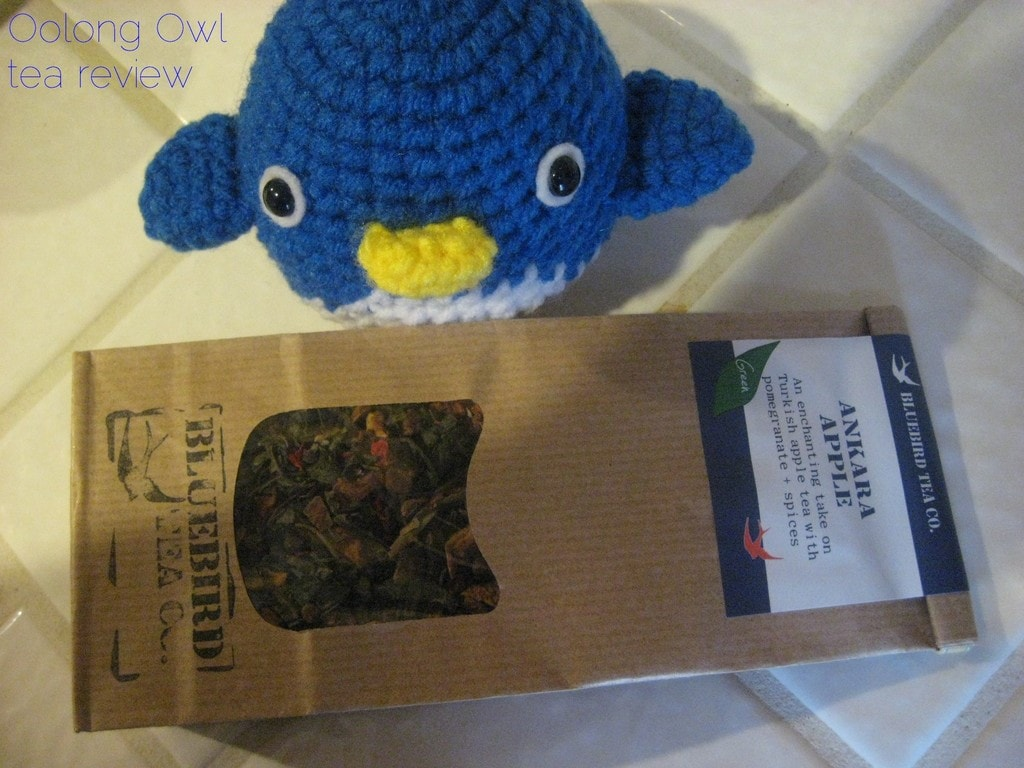 Ankara Apple from Bluebird Tea Co - Oolong Owl tea review (1)