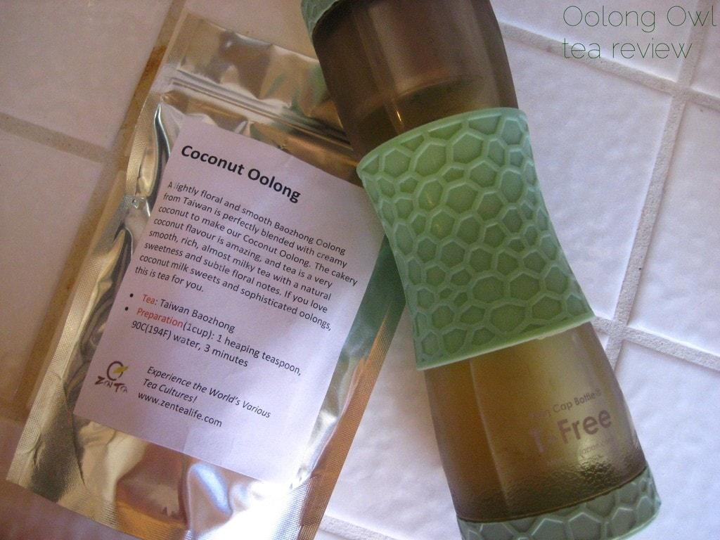 Coconut Oolong from Zen Tea Life - Oolong Owl tea review (2)